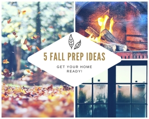 5 Fall prep ideas